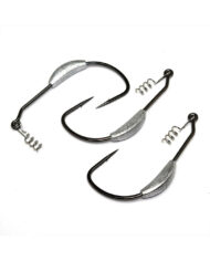 Worm Hooks, Weighted, Superline Spring Lock – Group