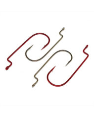 Worm Hooks, Offset Shank, Round Bend – Group